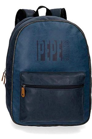 Pepe Jeans Max schoolrugzak, Rosa Roja (blauw) - 6352362