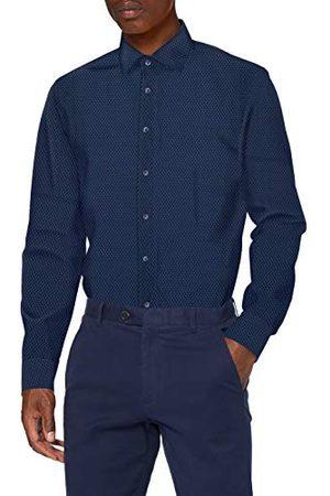 Seidensticker Zakelijk overhemd voor heren, strijklicht, smal overhemd, slim fit, lange mouwen, Kent kraag, 100% katoen