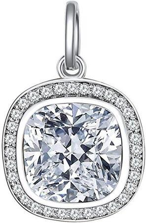 Nahla Dameshanger 925 zilver gerhodineerd zirkonia - 60171064