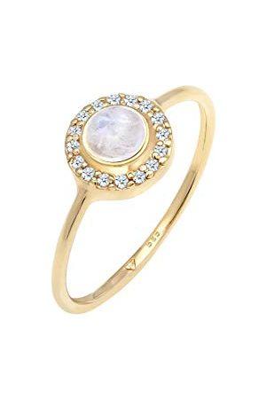 Elli Dames. 14_k_(585) geelgoud Brillantschliff Diamant