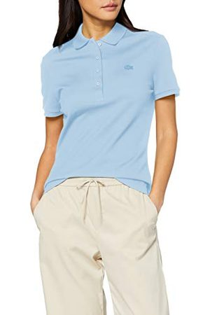Lacoste PF5462 hemd met kraag, voor dames - blauw - 38