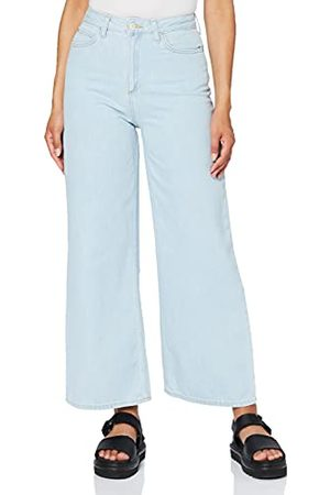 Lee Cropped A Line Flare Jeans voor dames