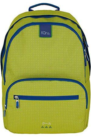 Grafoplas 37502420 Kuru schoolrugzak, groen, 31,5 x 43 x 20 cm