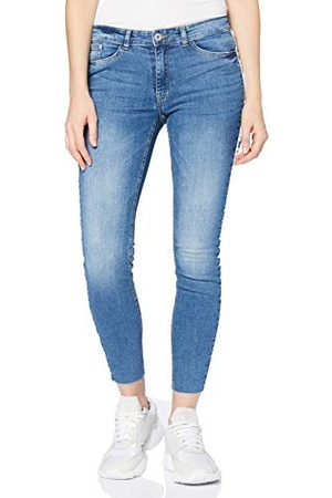 Ichi Dames Ihbezan Lulu Midium Blue Skinny Jeans