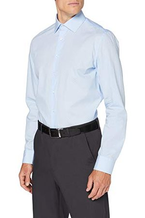 Seidensticker Zijdesticker heren slim lange mouwen print soft klassiek overhemd
