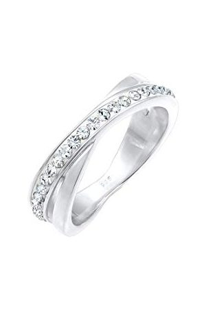 Elli Dames. .925 Sterling Silber 925 sterling zilver Xilion Cut Swarovski-kristal