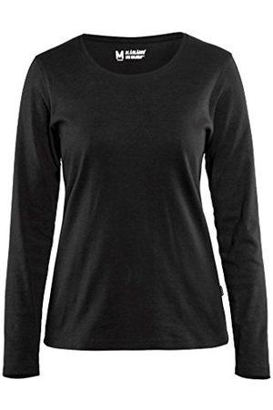 BLAKLADER Dames T-shirt met lange mouwen, M