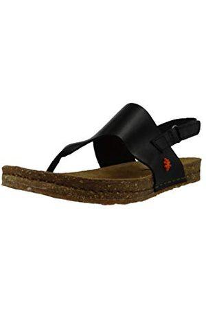 Art 1253 Bérro Black/Creta, dames sandalen met open punt