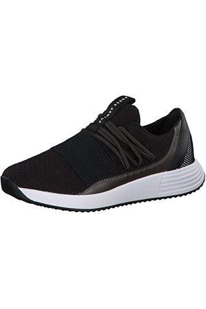 Under Armour Women's Breathe Lace Low Top Sneakers, Black, 8 UK