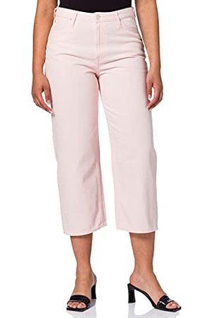Lee Dames Wide Leg Straight Jeans