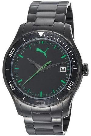 PUMA Time herenhorloge XL Ride 3HD Metal- L Black analoog kwarts roestvrij staal PU102571004