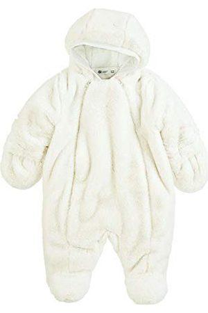 Sterntaler Meisjesoverall met ritssluiting, katoenen voering en terugklapbare handschoenen, fleece, gewatteerd.