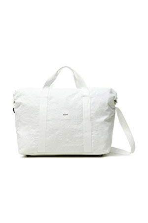 Desigual Dames Duffle Bag NYLON MA, 1004 LINEN WHITE, U LUGGAGE, medium