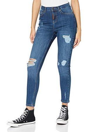 Gianni Kavanagh Medium Blue Core Ripped Jeans Dames