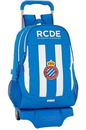 R.C.D. Espanyol Schoolrugzak - officieel - met trolley Safta
