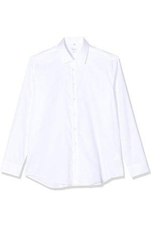 Seidensticker Zakelijk overhemd voor heren, slim fit, gemakkelijk te strijken businesshemd