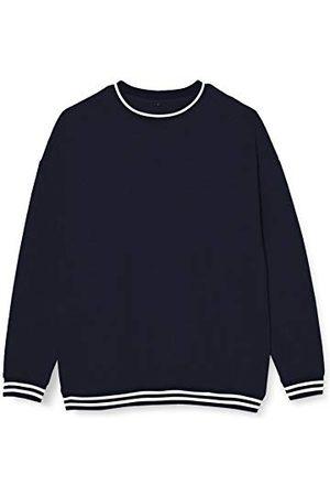 Build Your Brand College Crew Pullover Sweater voor heren