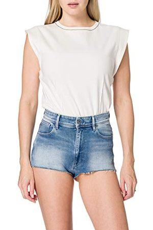 G-Star Dames Kafey Ultra High Hotpant Ripped Shorts