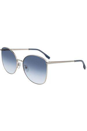 LACOSTE EYEWEAR Dames L224S-718 zonnebril, lichtgoud, 59/18/140