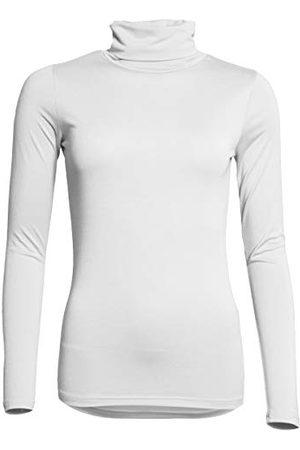 SPARKZ COPENHAGEN Dames Lange mouw - Dames Sella Rollneck Ls T-Shirt - ivoor - XS