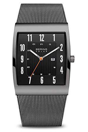 Bering Heren Analoog Horloge Met Roestvrij Stalen Armband 16433-377