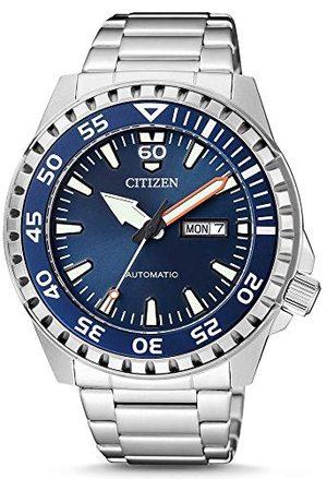 Citizen NH8389-88LE Automatisch herenhorloge met roestvrij stalen armband