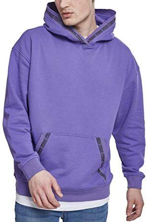 Urban classics Oversized hoodie met logo voor heren.