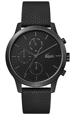 Lacoste Mens Multi wijzerplaat quartz horloge met lederen band 2010997