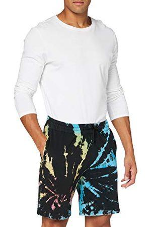 Urban classics Sweat Tie Dye Batik Shorts voor heren