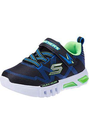 Skechers Flex-Glow-90542l sneakers, Black Blue Lime Bblm, 31 EU