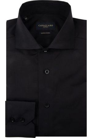 Cavallaro Napoli Heren Overhemden - Heren Overhemd - NOS Nero Overhemd