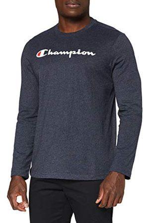 Champion Heren Classic Logo T-shirt met lange mouwen