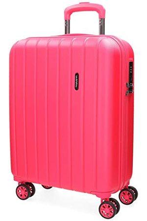MOVOM Movon Wood koffer, Handbagage-koffer, Fuchsia - 5319168