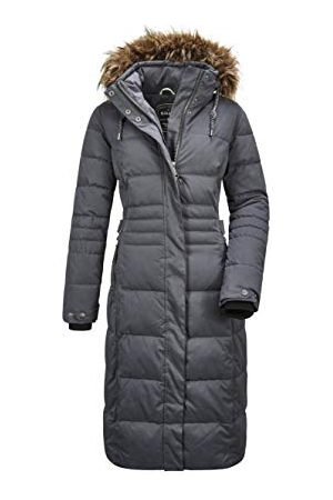 G.I.G.A. DX by killtec Dames Ventoso Wmn Quilted Ct B Casual functionele jas in dons-look met afritsbare capuchon