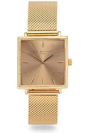 Elie Beaumont Analoog voor dames Japanse Quartz Horloge met RVS Band EB818.6