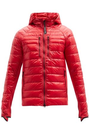 Canada Goose Hybridge Lite Packable Quilted Down Hooded Jacket - Mens - Red