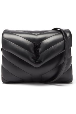 Saint Laurent Loulou Toy Mini Padded-leather Shoulder Bag - Womens - Black