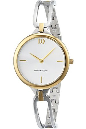 Danish Design Dames analoog kwarts horloge met roestvrij stalen armband 3324587