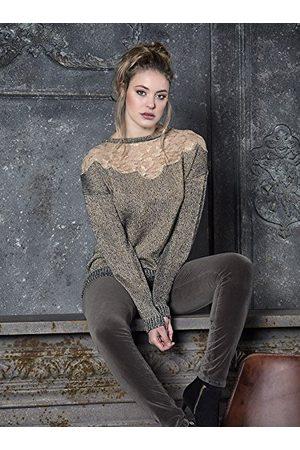 Morgana Dames pullover - gouden - Small
