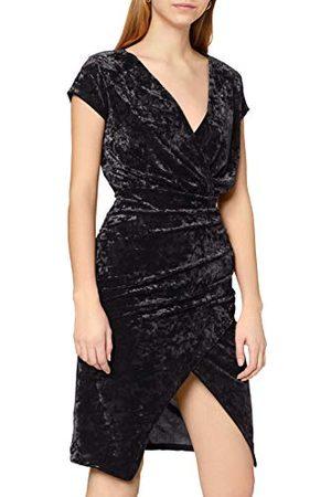 Ivy Revel Fluwelen jurk voor dames aan de voorkant.