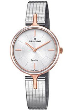 Candino Womens Analoog Klassiek Quartz Horloge met RVS Band C4643/1