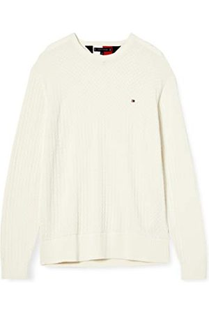 Tommy Hilfiger Heren Weave Structured Sweater Pullover