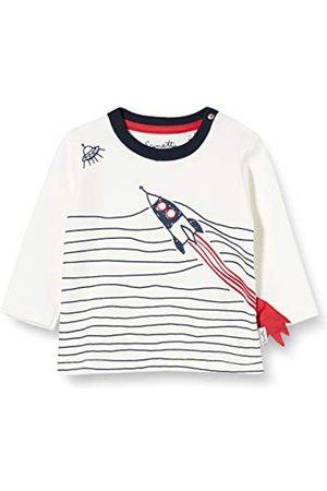 Sanetta Baby-jongens Ivory kleine kinderen T-shirt-set