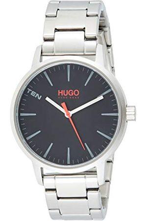 HUGO BOSS Heren analoog kwartshorloge met roestvrij stalen armband 1530140
