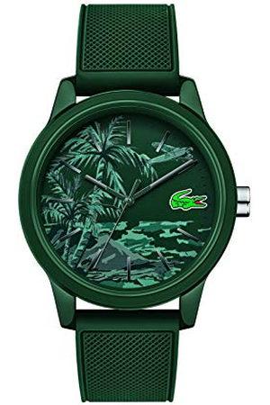Lacoste Heren analoog klassiek quartz horloge met siliconen band 2011023