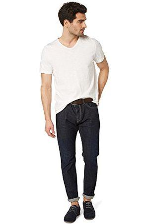 TOM TAILOR Regular Waist Regular Fit, Slim Been Jeans met riem / 407