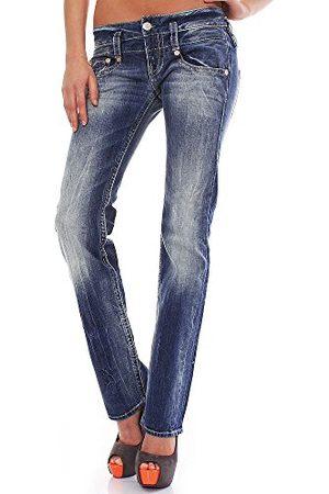 Herrlicher Heerlijk Pitch denim stretch jeans recht dames - - W31/L34