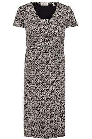 Queen mum Dames Dress Jersey Nurs Ss AOP Colombo jurk
