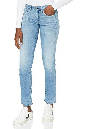 G-Star Dames 3301 Deconst Mid Straight Wmn Jeans
