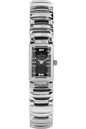 Jacques Lemans Dames multi-wijzerplaat kwarts horloge met massief roestvrij stalen armband 1-1916A